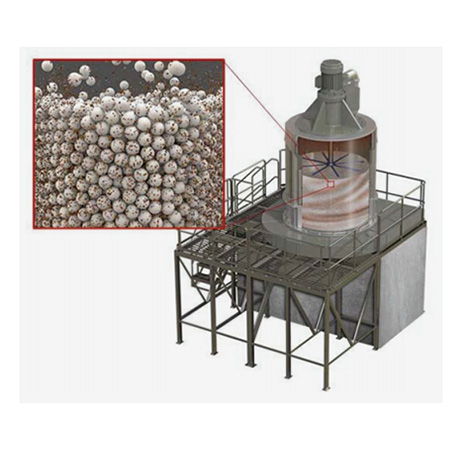 Ceramic grinding media reduces vertical mill component wear and maintenance costs for mining company