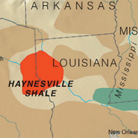 Increasing short- and long-term dry gas production - Haynesville Shale