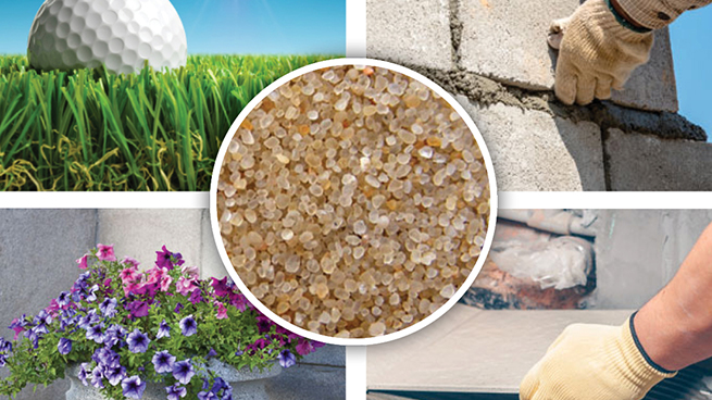 CARBOQUARTZ is ideally suited for a variety of applications and can be packaged and delivered to fit your needs