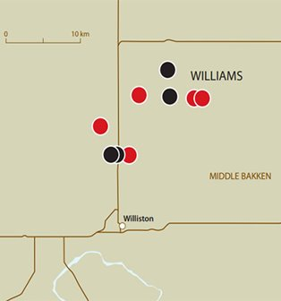 Ceramic-enhanced completion improves ROI compared to sand only, Middle Bakken, Williams County